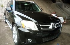 Clean Mercedes Benz GLK 2010 Black for sale