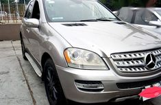 Clean Mercedes Benz Ml350 2007 Silver for sale
