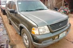 Ford Explorer 2002 Green for sale