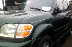 Tokunbo Toyota Sequoia 2003 Green for sale