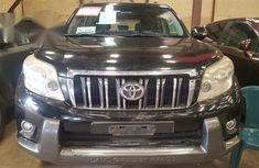 Toyota Land Cruiser Prado 2010 Black for sale