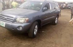 Registered Toyota Highlander 2003 Blue for sale