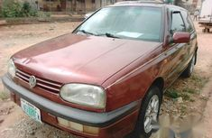 Volkswagen Golf 3 1999 Red for sale