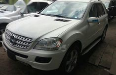 Mercedes Benz Ml350 2008 White for sale