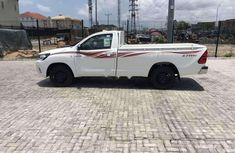 Toyota Hilux 2016 Petrol Manual White for sale