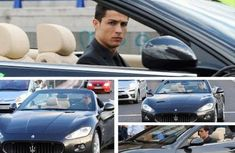 Top 18 best cars owned by Cristiano Ronaldo – Part 1