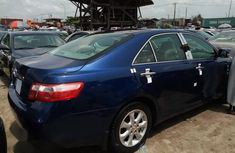 Neat And Clean Toyota Camry 2008 Blue for sale