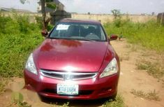 Honda Accord 2005 Red for sale