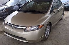 Honda Civic 2005 gold for sale