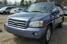 Toyota Highlander 2006 model for sale