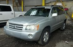Toyota Highlander  2003 model for sale