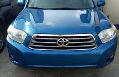 Toyota Highlander 2010 Blue for sale