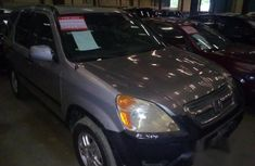 Honda CR-V 2002 Silver For Sale