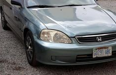 Clean Nigerian Used Honda Civic 2000 Green For Sale