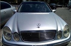 Mercedes-benz E320 2006 Silver for sale