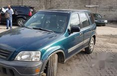 Clean Used Honda CR-V 1999 Green for sale