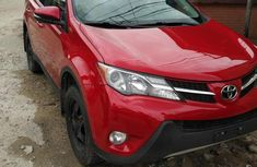 Toyota Rav4 2015 Red for sale