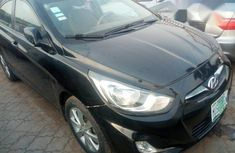 Hyundai Accent 2012 Black for sale