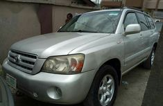 Cheap Toyota Highlander 2005 Silver for sale