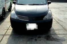 Clean Nissan Tiida 2007 Black for sale