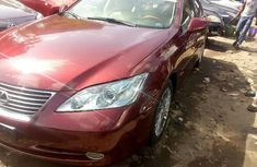 Lexus ES 2009 Petrol Automatic Red for sale