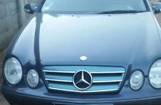 Mercedes Benz Clk 2001 Blue for sale