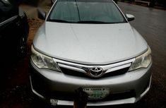 Clean Nigeria Used Toyota Camry 2013 Silver for sale
