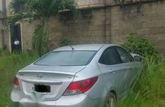 Accident Hyundai Accent 2012 Silver for sale