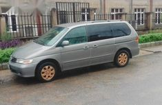 Honda Odyssey 2002 Gray for sale