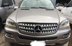 Clean Mercedes Benz ML350 2007 Gray for sale