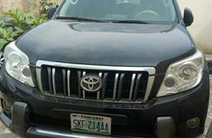 Nigerian Used Toyota Land Cruiser Prado 2012 Black for sale