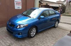Toyota Corolla 2010 Petrol Automatic Blue for sale