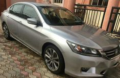Nigerian Used Honda Accord 2013 Silver for sale