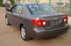 2006 Toyota Corolla Gray for sale