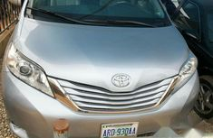 Toyota Sienna 2012 Silver for sale