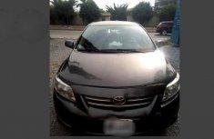 Nigerian Used Toyota Corolla 2009 Gray For Sale