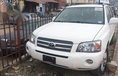 USA Direct Toyota Highlander SUV 2006 White For Sale
