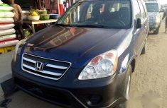 Honda Crv 2005 Blue for sale