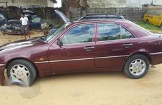 Neat Mercedes-Benz C200 2000 Red for sale