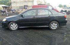 Toyota Corolla Sport 2005 Black for sale