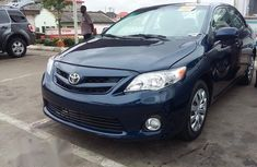 Toyota Corolla LE 2012 Blue for sale