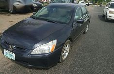 Neatly Used Honda Accord 2004 Gray for sale