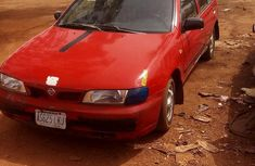 Clean Nissan Almera 1996 Red For Sale