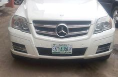 Mercedes Benz GLK 2009 White for sale