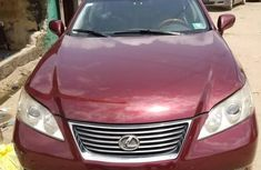 Super Clean Lexus ES350 2010 Red for sale