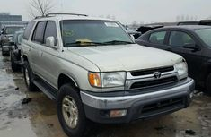 Toyota 4runner 2001 model silver color for sale