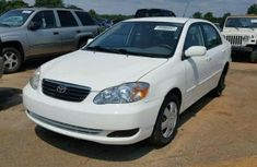 Clean Toyota Corolla 2003 White for sale