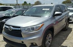 Toyota Highlander Limited Edition 2017 silver for sale