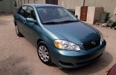 Clean Toyota Corolla 2003 Green for sale