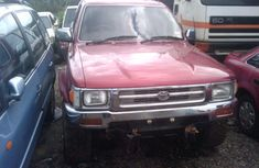 Tokunbo Toyota Hilux 2007 Red For Sale
